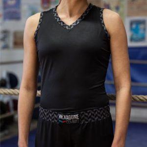 Débardeur de Boxe Française Héritage Femme