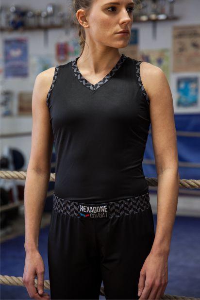 Débardeur de Savate Boxe Française Héritage femme