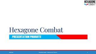catalogue hexagone combat