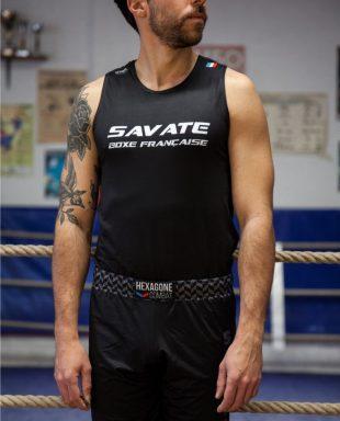 Débardeur de Savate Boxe Française Savate homme face