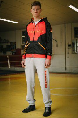 sporswear pantalon de jogging personnalisé et sweat capuche personnalisé Hexagone Combat Homme