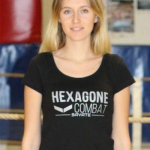 T-shirt Hexagone Combat Savate Femme