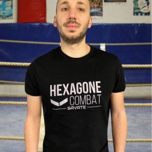 T-shirt Hexagone Combat Savate Homme
