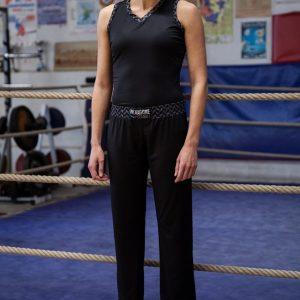 Tenue pantalon débardeur de Boxe Française Héritage Femme
