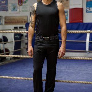 Tenue pantalon débardeur de Boxe Française Héritage Homme