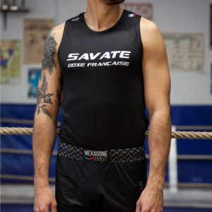 Débardeur de Boxe Française Savate Homme
